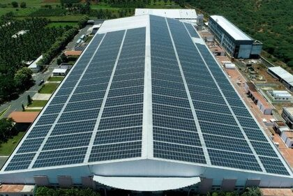 How will companies get benefit from the Solar power plant for your industry or factory?